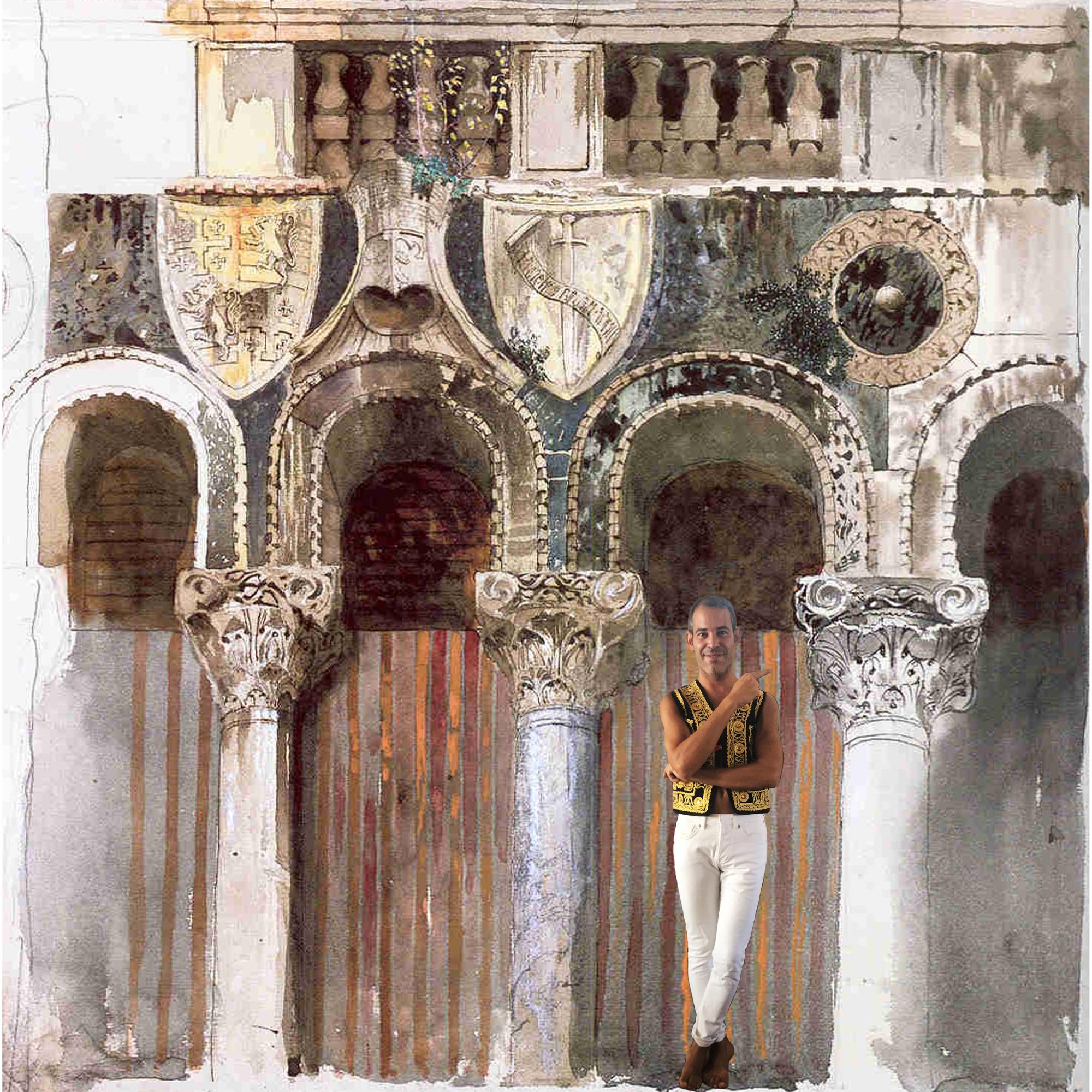 Quando i critici d'arte disegnavano per studiare l'evoluzione degli stili: John Ruskin (1819-1900)