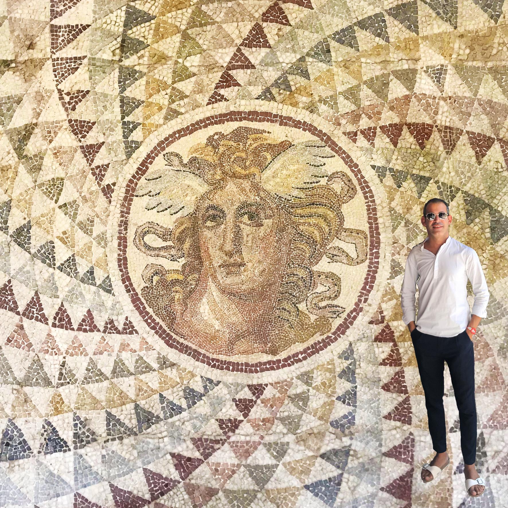 ICONICITÀ DI UNA GORGONE: esempio di comparazione fenomenologica tra la tradizione musiva dell'antichità classica e l'Op Art